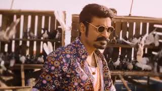 Dhanush Mass Entry in Maari Whatsapp Status