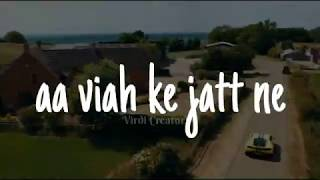 Kill Goriye - Gurj Sidhu Song Whatsapp Status