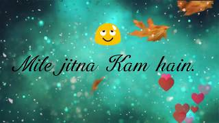 Kisi Se Tum Pyaar Karo - Hindi Sad Whatsapp Status