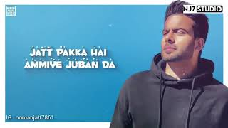 Vail - Mankirt Aulakh Song Whatsapp Status